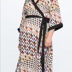ELOQUII Gorgeous Kimono-Chic Wrap Dress - Size 20